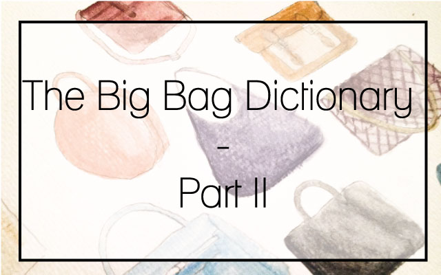 the big bag dictionary part II
