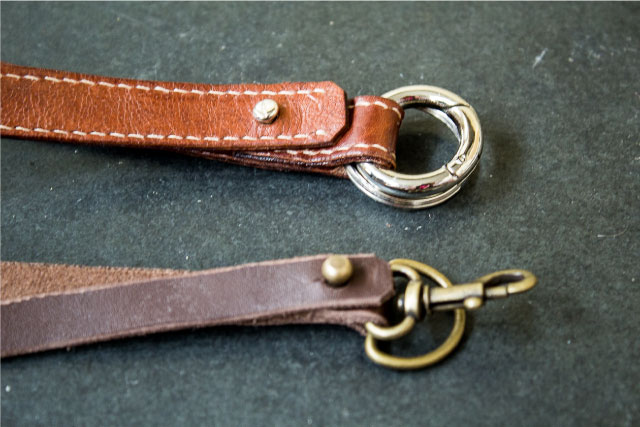 leather key cords