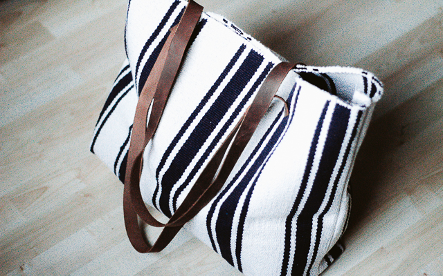 ikea hack summer bag