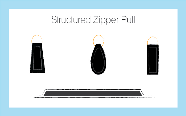 structured-zipper-pull